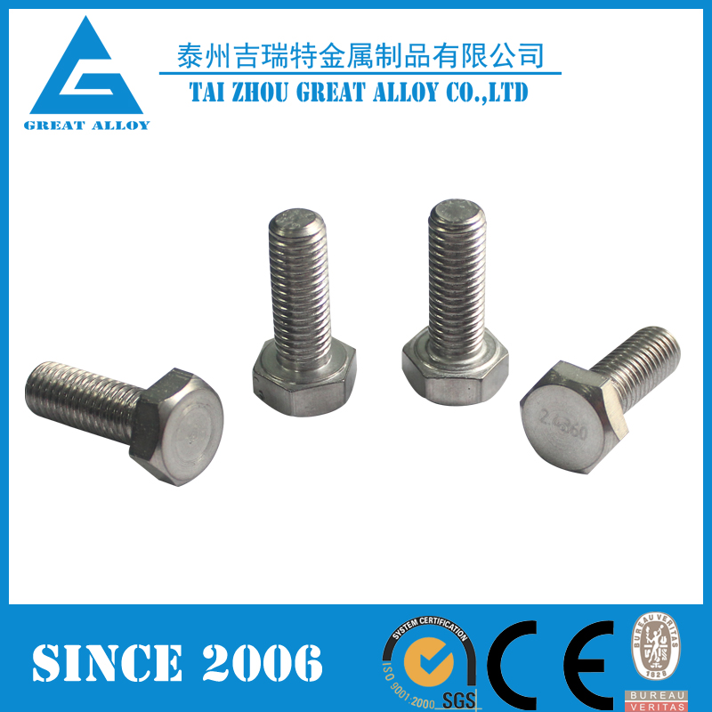 Monel 400 Monel k500 Bolts and nuts