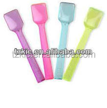 plastic disposable ice cream spoons
