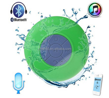 Factory good sell portable waterproof bluetooth mini shower speaker