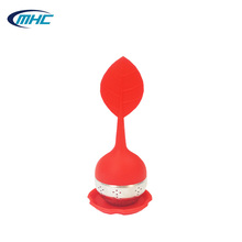 Silicone Handle Stainless Strainer Tea Infuser