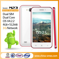 M23 4inch Best Selling Low End Android Active Dual SIM Phone