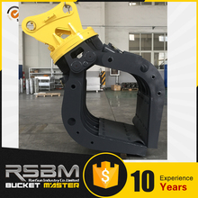 Hot Sale Professional Lower Price Aluminum heavy duty log grapple