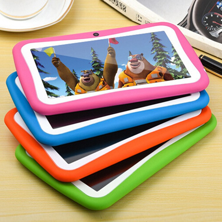 Hot sale 7inch children kinds educational game Android5.1 wifi RK3126 tablet pc MID PAD
