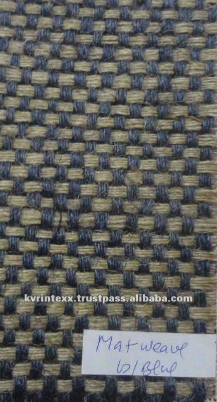 100% jute matt weave fabric for sale