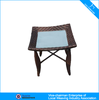 Small rattan furniture side table lounge end table CF801