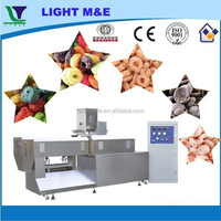 High Performance Big Bulk Roasted Extruded Corn Flakes Machinery