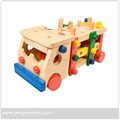 Pilling Tools Bucket Truck Toys in Wood Material