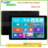Best seller On Alibaba Teclast X16 Pro Dual OS Intel Cherry Trail T4 Z8500 4GB 64GB High capacitive tablet pc factory price