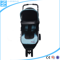 Eye-catching breathable Removable 2016 baby stroller