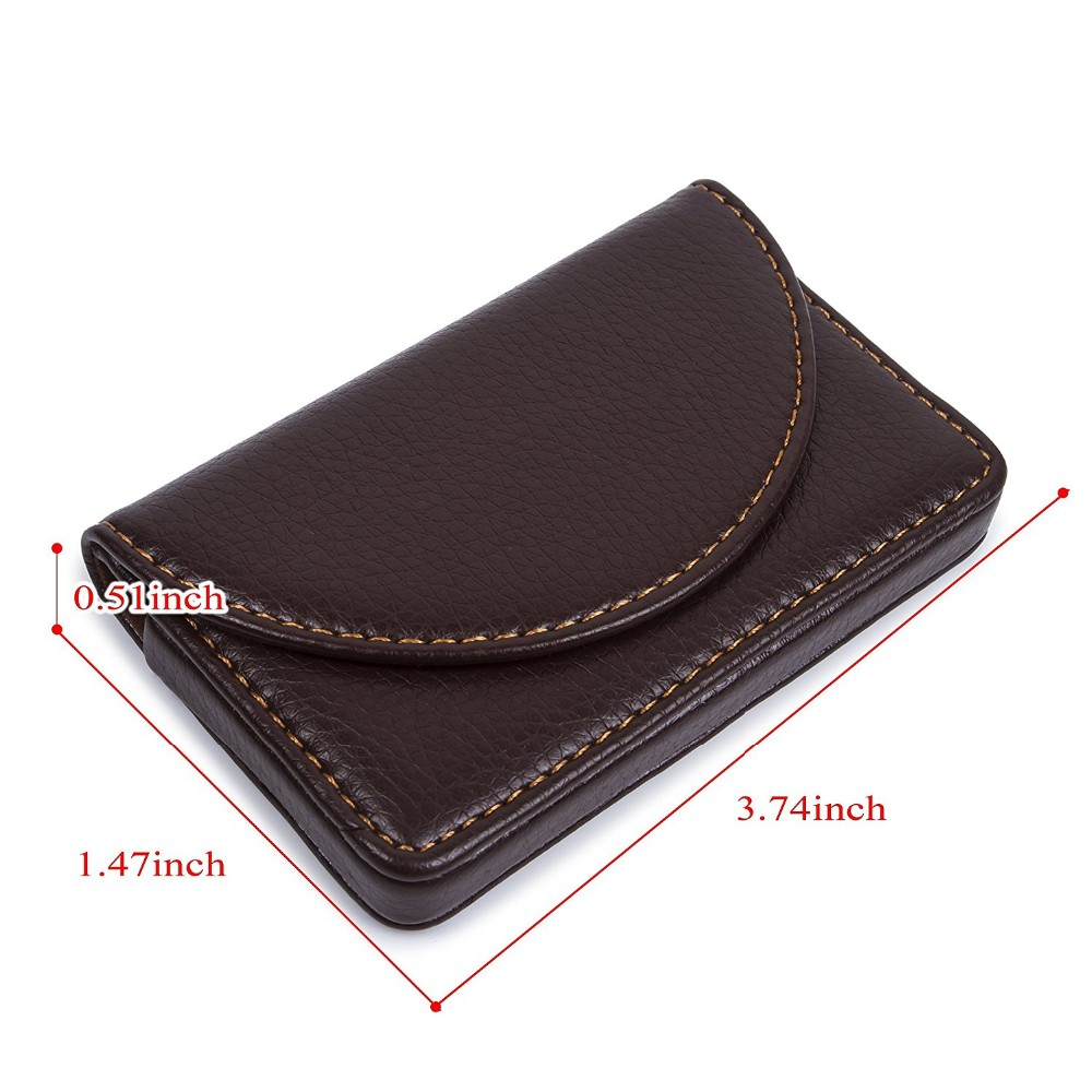 2017 new design leather business name card holder case wallet credit a1 g reheart Images
