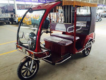 three wheel covered motorcycle/passenger three wheel bicycle/cng auto rickshaw price
