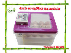 Factory price wholesale 16 chicken egg incubator used poultry incubator for sale