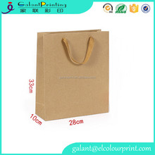 brown kraft handmade paper bags designs made for custom