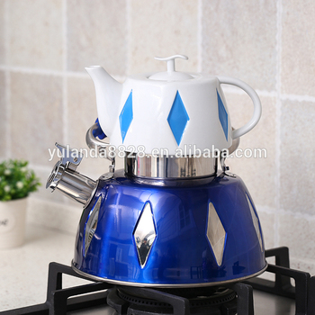Best price silicone handle 3.7L water tea kettle