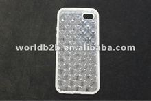Diamond TPU Back Case Cover for iPhone 5