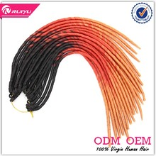 2017 hot sale synthetic hair braid women hair extension micro braid weft