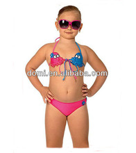 New bikini girls animal cute kids string bikini