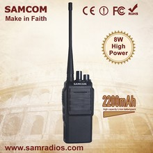 SAMCOM CP-700 China Factory Supplier Latest Design 8W Walkie Talkie Specifications