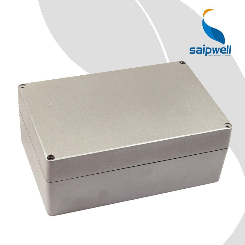 SAIP/SAIPWELL 188*120*78 Distribution Box Manufacture Waterproof High Quality New Aluminium Case Box Casting