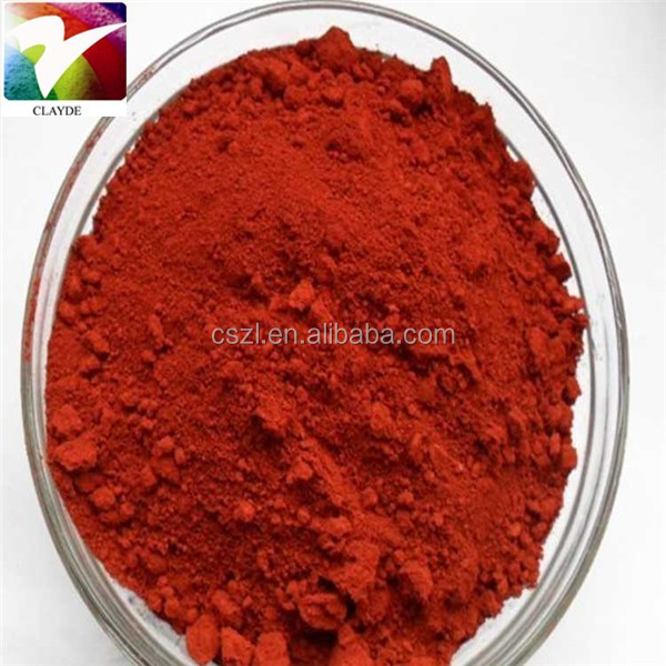 China supplier Fe2O3 pigments iron oxide red 130 msds