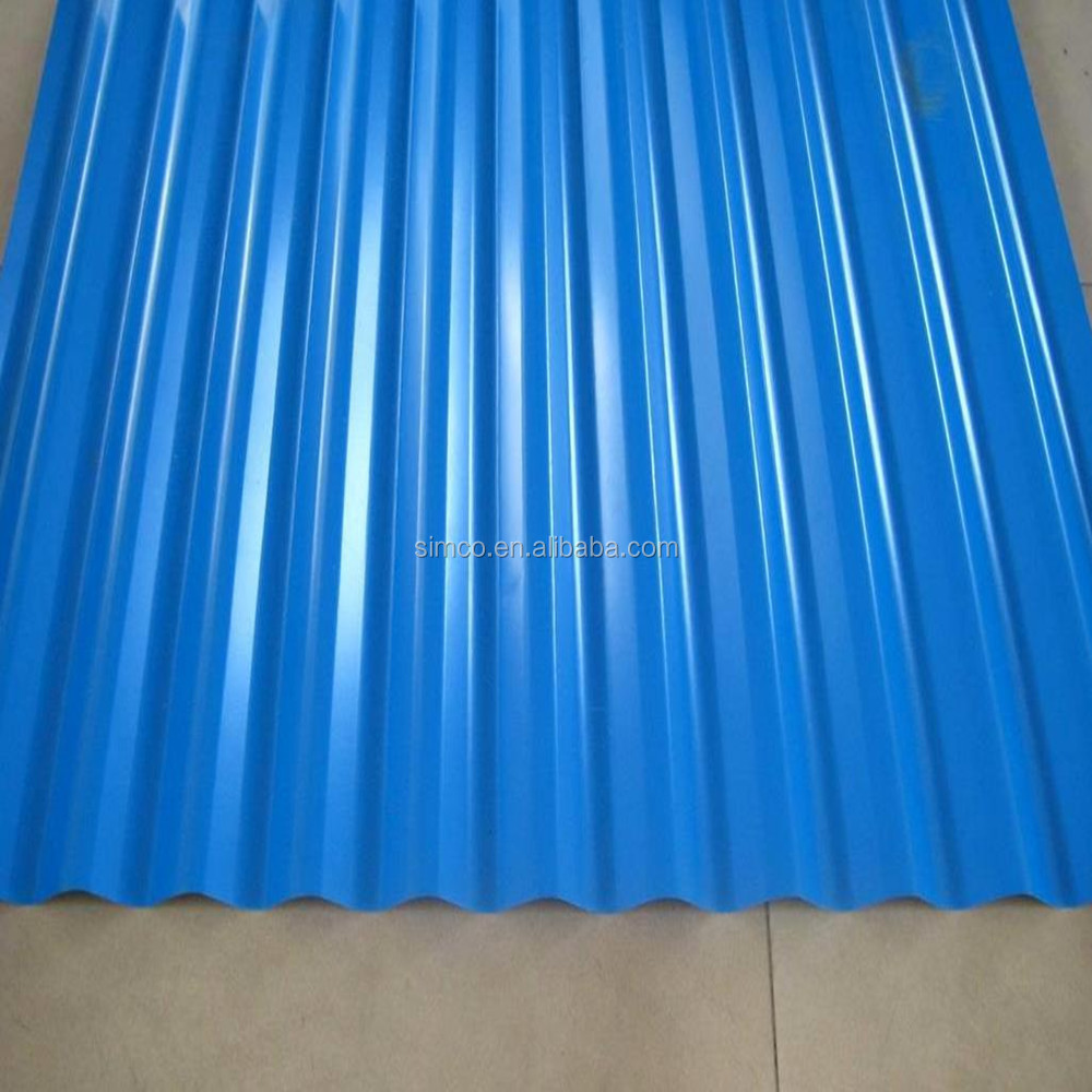 Galvanized corrugated wall roof iron steel sheet roofing for construction