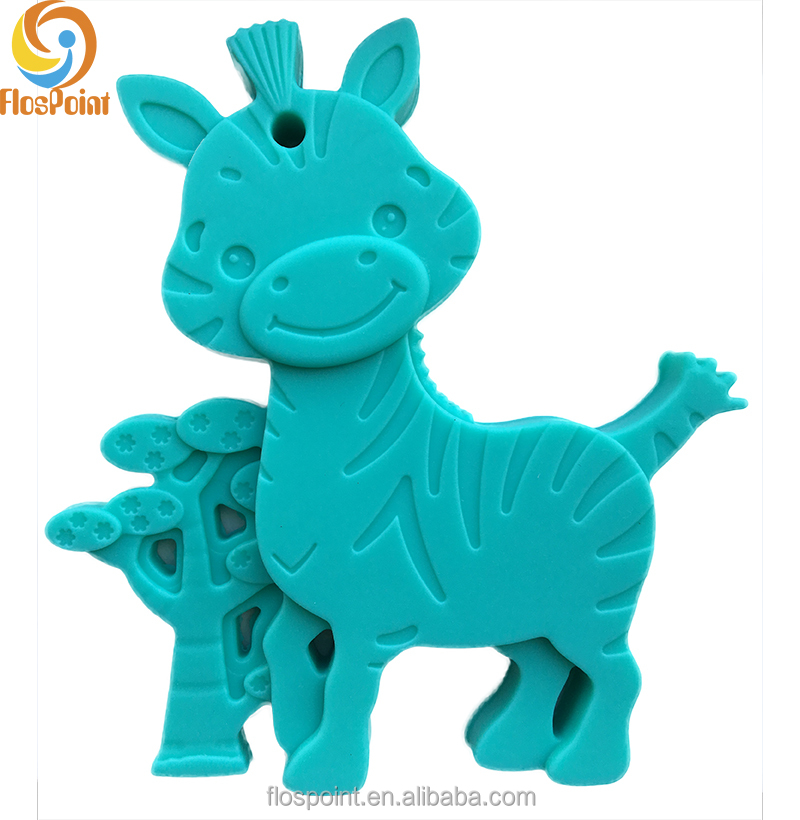 New idea goods soft giraffe Silicone rubber Teething Toys