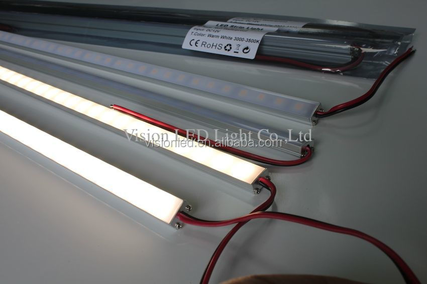 Super slim aluminum strip light channels