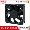 Standard SUNON Maglev 12038 120mm 120x120 Laptop 12V DC Axial Flow Brushless Computer Case Fan 120x120x38mm (MEC0381V3-0000-A99)