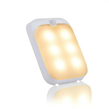 Hot selling products rechargeable led pir sensor night light for carport