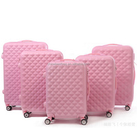 "Professional manufacturer for 20"" 24"" 28"" PC/ABS 360 degree hard suitcase plastic handle luggage"