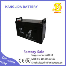 Solar Energy Storage Terminal Battery 12V 120AH Gel Battery For System Use