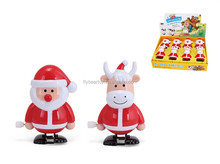Christmas Santa Claus Antler wind up toys