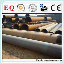 Taper steel pipe structure black steel tubes s235 structural steel pipe