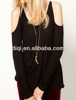 latest new models of gause chiffon blouse for lady
