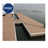 High quality Marine Grade Aluminium float dock plastic dock float