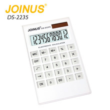 High Quality JOINUS Office Desktop Big Calculator Dual Power