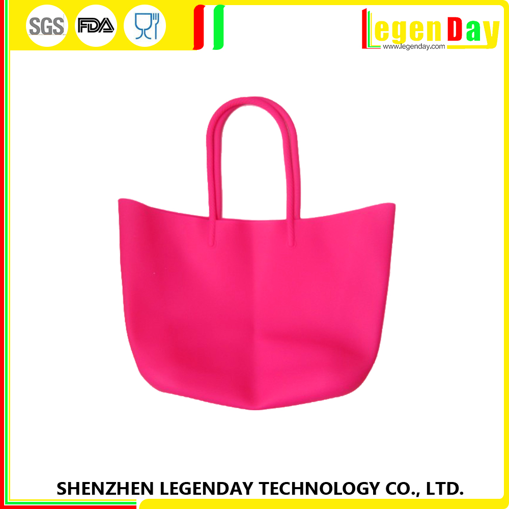 High Quality silicone professional women's shoulder bag