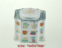 tea tin box storage box mini tea box container