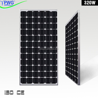 320 w Mono Water Solar Panel Pallets Manufacturer in China Factory Price
