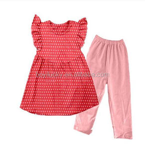 Baby pettiskirt sets kids outfits children fall boutique outfits matching heart shape valentines day clothing sets
