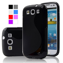 Anti-Skid silicone S-LINE Slim Soft phone case Back Cover For Samsung Galaxy S3 Case I9300 Neo i9301 Duos i9300i
