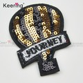 Fashion embroidered patch clothing decoration patch WEFB-046