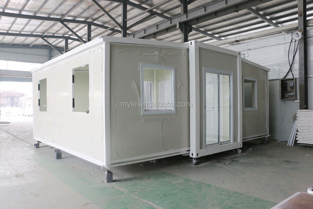 Folding Container House Prefab Expandable Container Homes