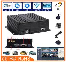 AHD 720P 960P dual HDD and SD card mobile DVR/MDVR Recorder Security Camera CCTV support text sent