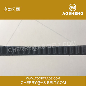 OEM row edge belt cogged v-belt automatic transmission belt for cars for vehicle hot selling with high quality