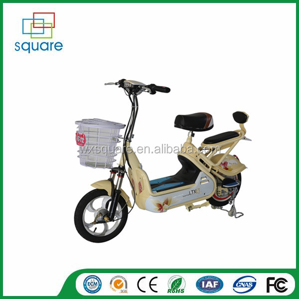 Two wheel electric bike Elecreic motorcyle/moped/bike with pedal for sale