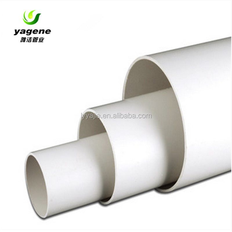 Hot Sale white plastic pipe pvc irrigation pipes 50mm