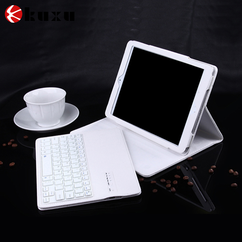 Magnetic Detachable Wireless Bluetooth Keyboard Folio PU Leather Case Cover For Apple iPad Pro 12.9