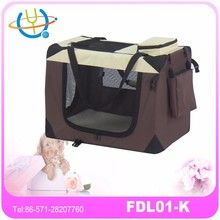lightweight fabric wholesale pet carrier with fleece mat deluxe pet carriers soft sided