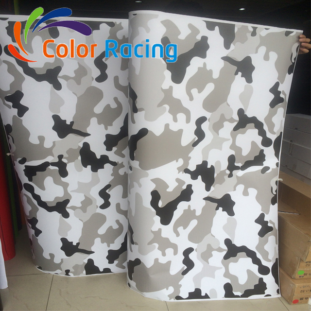 1.52*30m Self Adhesive Car Vinyl desert Camouflage Wrap Film